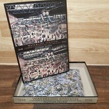 gibsons 1000 piece jigsaw puzzles Waterloo Station 1848-1948 - Complete