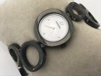 Fossil Watch Black Tone Analog Wrist Watch Water Resistant 5 ATM