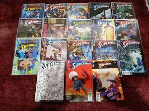DC New 52 Geoff Johns SUPERMAN #32 - 52, Annual 1 John Romita jr (DC,  2014) Set