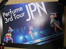 Perfume [LIVE 3rd TOUR JPN] promo POSTER Japan Limited! KAWAII