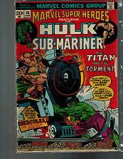 Marvel Super-Heroes #34 (Marvel) 1st Print - by Stan Lee & Jack Kirby;