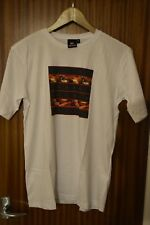 QUICKSILVER garçon t-shirt New Age 16 Blanc