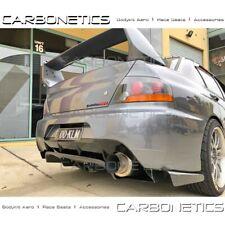 Varis Style Rear Diffuser Carbon Fiber CF Mitsubishi Lancer EVO IX 9