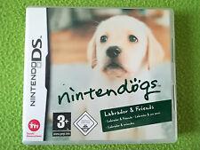 NINTENDOGS LABRADOR & FRIENDS - Jeu complet  Nintendo DS - Jeu DS
