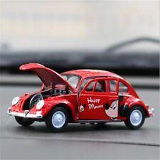 Mini Volkswagen Beetle Car Toy Gift Car Model  Car Interior Design Open Door's
