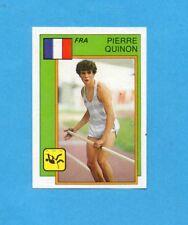 SUPERSPORT 1986-PANINI 86-Figurina n.15- QUINON - FRANCIA -ATLETICA-Recuperata