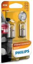 Car Lamp Conventional Interior and Signalling Vision R5W Base BA15s Philips
