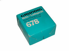 Grundig NT 678 alimentatore caricabatteria per Grundig Audioregistratori 17