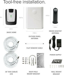 weboost 471101 Basic Home Cell Phone Signal Booster New Open Box AT&T Verizon
