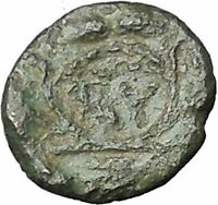 Lysimacheia in Thrace 309BC RARE Ancient Greek Coin Athena Grain wreath  i49743