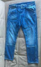 G-star Raw faeroes classic straight tapered jeans mens w 36 L32 Uniform freedom