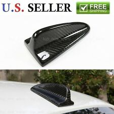 Real Carbon Fiber Shark Fin Antenna Fit Audi A4 S4 S5 TT A5 Mercedes BMW Acura