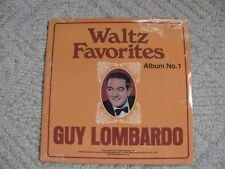 WALTZ FAVORITES GUY LOMBARDO LP'S ALBUMS 1 & 2 NEW STILL FACTORY SEALED