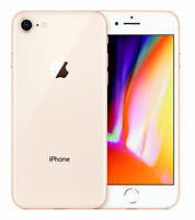 NEW(OTHER) GOLD T-MOBILE 64GB APPLE IPHONE 8 SMART CELL PHONE HZ83