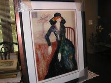 "Barbara A Wood seriolithograph "" Lady Rodney"" Limited Edition #707/1250"