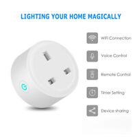 UK Wireless WiFi Smart Plug Power Sockets for Amazon Alexa Google Home IFTTT NEW