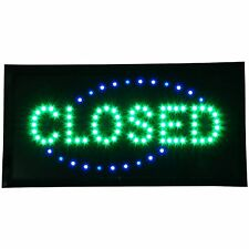 "Closed shop Led 19x10"" Sign Bright Store neon Bar Close Animated Light open mart"