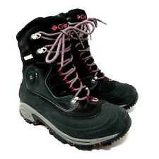 Columbia Bugathermo Thinsulate Techlite Omni Grip Waterproof Womens Snow Boots