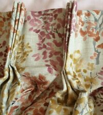 John Lewis Leckford Trees Made To Measue Triple Pinch Pleat Lined Curtains