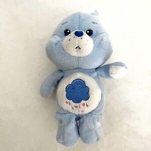 2002 Care Bears 8'' GRUMPY BEAR PLUSH 20th Anniversary Play Along *READ*
