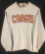 Vintage 90's COACH ABC TV SHOW SWEATSHIRT Mens Lrg Craig T Nelson MINN football