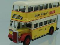 Newcastle Model bus Daimler 1950s rte 2 to Walker