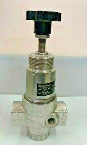 """Norgren R22 R22-405-NNFA Stainless Steel Air Regulator 1/2"""" 5-60 psi NACE"""