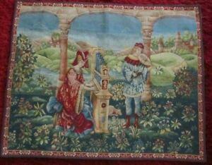 VTG. Wall Art tapestry SONG OF LOVE  Tapissierie D'ahalluin Chant D'amour FRANCE
