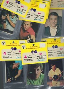 BOWLING 1973 1-50 sealed in packs  DON CARTER RC MINt RARE  ENGAN DICK WEBBER