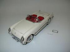 "Franklin Mint  Chevrolet  Corvette  ""1953""  (cremeweiß)  1:24"