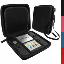 BLACK  Carry Storage Hard Protective Case Cover For Nintendo 2DS Game With Zip