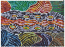 AUSTRALIAN ABORIGINAL ART PAINTING by Les Lipwurrunga Huddleston
