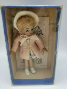 """Tiny Town Doll """"Honey"""" with Original Box and Pamphlet"""