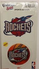 NBA Houston Rockets 2 Piece Die Cut Magnet Set, NEW