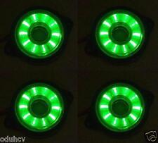 4x Rotating Running 12V LED Green Side Marker Light Truck Lorry Chassis Caravan