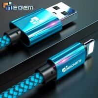 Tiegem USB Cable For iPhone 7 8 6 5 6 S 5 se plus X XS MAX XR iPad Fast Charging