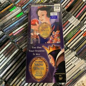 SNOW WHITE AND THE SEVEN DWARFS (Platinum Edition) [2x DVD,NEW] Long box SEALED!