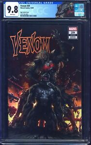 Venom #29 CGC 9.8 NGU WRESTLING COVER CUSTOM KNULL LABEL NM/MT