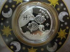 Ukraine Silver coin 2 UAH 2015: Pisces (Little Fish) - Children's Zodiac