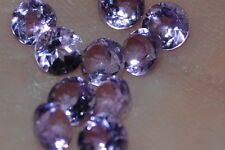 VVS 4mm Natural Untreated Brilliant Cut Amethyst Gemstone!!!