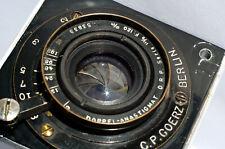 GOERZ Berlin Double-Anastigmat 6/120mm Serie III/0 with PERFECT GLASS!