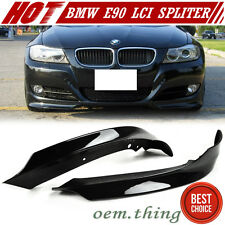 STOCK USA Painted BMW E90 3-Series LCI Front Splitter Lip Spoiler OE Bumper #475