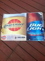 """Bud Light March Madness 36"""" X 24"""" Poster College Basketball Perfect For Man Cave"""