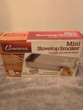 Stovetop Smoker - The Original Camerons Gourmet Mini Stainless Steel Smoker with