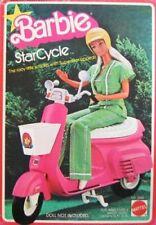 Vintage Mattel 1978 Barbie Star Cycle Scooter — Includes Original Helmet