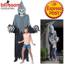 CA905 Towering Terror Grim Reaper Giant Skeleton Halloween Decoration Costume