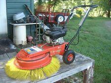 Pave Tech Tb 902 Horl Walk Behind Sweeper Poly 36 Broom Honda Gas 5 Hp Engine