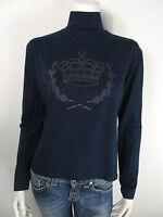 Nicky Vankets Damen T-Shirt Bluse Top Strass Neu 42