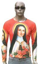 Ave María Magdalena Santa Madonna religión t-shirt L