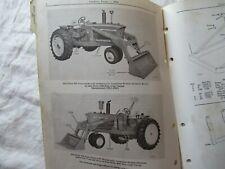John Deere 46a Farm Loader Parts Catalog Book Manual